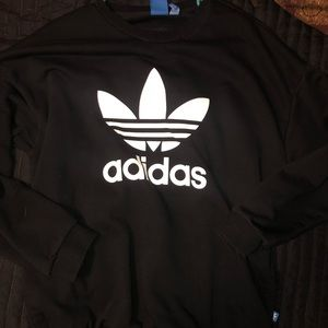 Oversized adidas pullover
